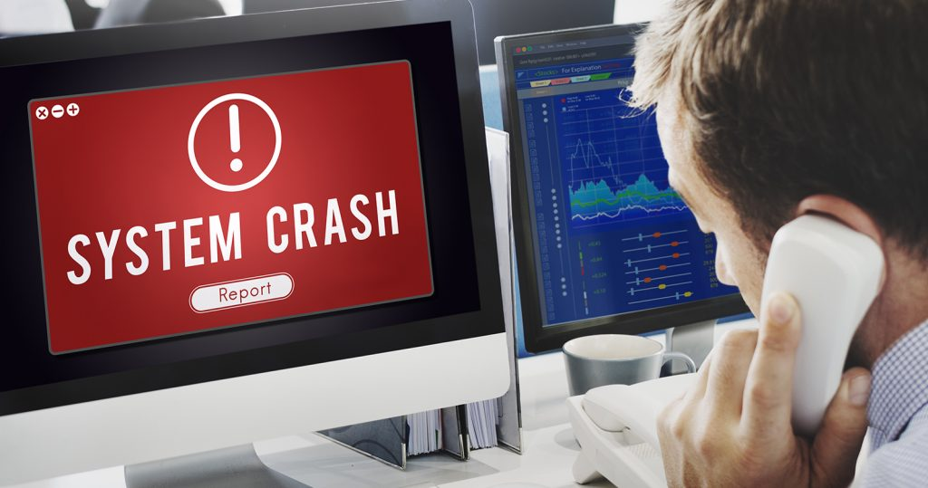computer network crash cause
